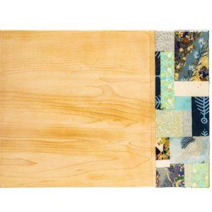 Maple Charcuterie Board - Blue Tones
